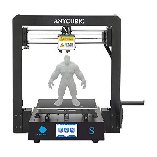 ANYCUBIC MEGA-S 3D Drucker für Baugröße 210 x 210 x 205mm, neuem Extruder, Stabilen Vollmetall-Rahmen und...