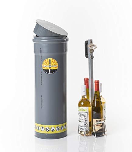 BIERSAFE WEINSAFE Outdoor - Erdloch- Wein- und/oder Bier-Kühler/Getränke- Geheim-...