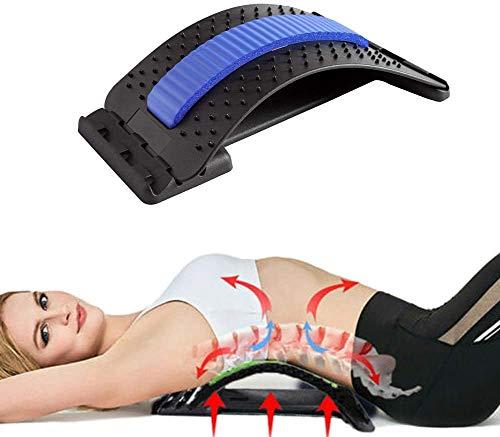 Geagodelia Rückenstrecker Rückendehner Ergonomisch designter Rücken-Trainer Rückenmassage...