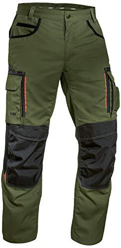 Uvex Tune-Up Männer-Arbeitshosen Lang - Cargohose für die Arbeit,Grün,48