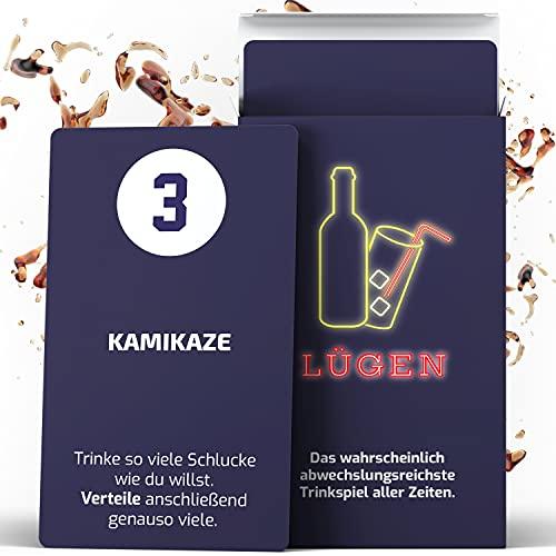 VibaGames® Lügen – Das Trinkspiel Nr.1 | Kartenspiel - perfektes Party Zubehör | ideal für...