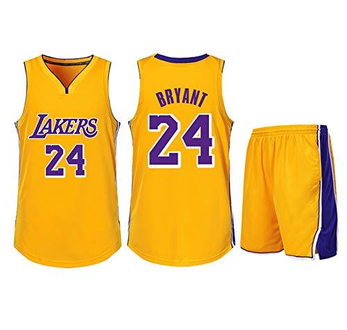 DERTL Verwendet für Kobe Bryant Nr. 24 Los Angeles Lakers Fans Jungen Mädchen Blue Ball Trikots Kinder...