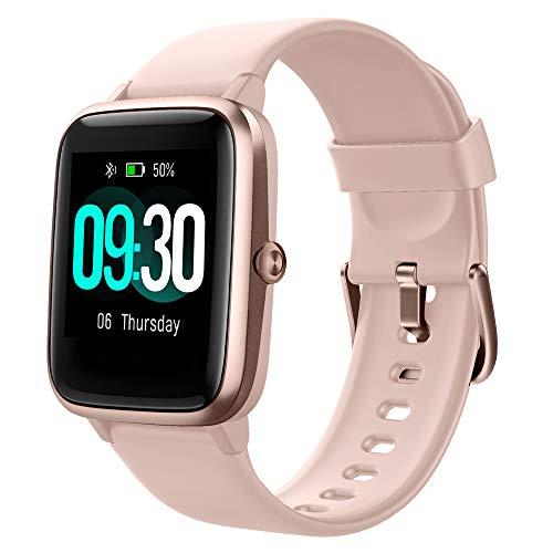 Willful Smartwatch,1.3 Zoll Touch-Farbdisplay Fitness Armbanduhr mit Pulsuhr Fitness Tracker IP68 Wasserdicht...