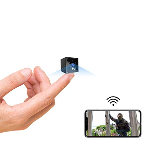 Mini Kamera, KEAN 4K HD Mini Überwachungskamera Lange Batterielaufzeit Kompakte Kleine WLAN Sicherheitskamera...