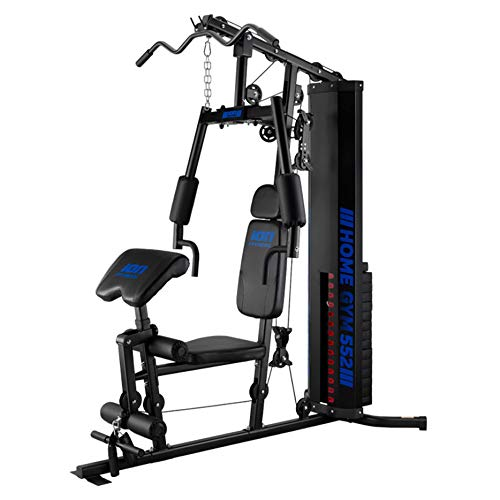 ION Fitness Home gym 552 FI552 multifunction home gym - 70 kg weight stacks - maxmimum stability - black