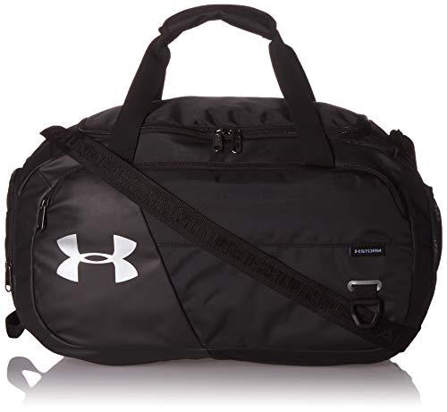 Under Armour Undeniable Duffel 4.0 MD, geräumige Sporttasche, wasserabweisende Umhängetasche Unisex, Black /...