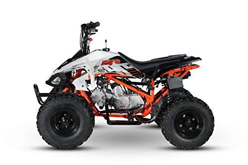 Cenkoo ATV 110cc Automatik mit Vor- und Rückwärtsgang Weiß