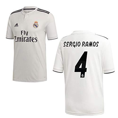 adidas REAL Madrid Trikot Home Herren 2019 - Sergio Ramos 4, Größe:L