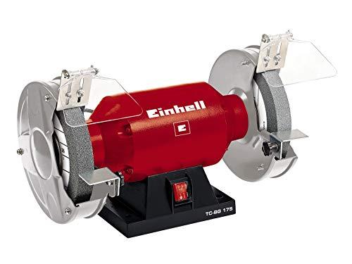 Einhell Doppelschleifer TC-BG 175 (400 W, Drehzahl 2950 min-1, 230 V/50 Hz, inkl. Grob- und Feinschleifscheibe...