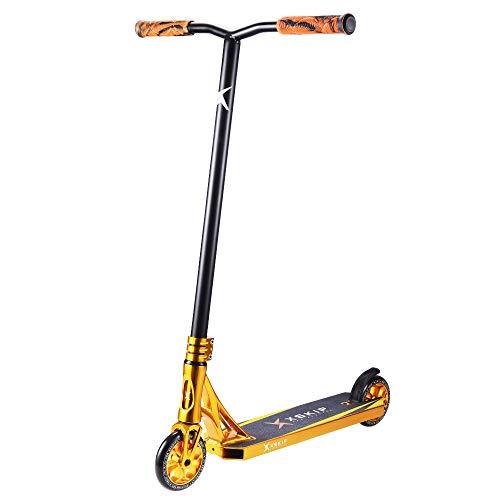 XSKIP 36' Pro Stunt Trick Scooter für Jugend und Erwachsene mit 120 mm AlU Kern Wheels