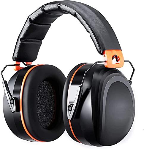 TTTTTTT Gehörschutz, Lärmschutz Kopfhörer mit SNR 34dB, komfortabele Schallschutz Kopfhörer Ohrenschützer...
