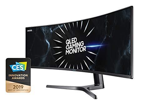 Samsung C49RG94SSU 124,20 cm (49 Zoll) Curved Gaming Monitor (5120 x 1440 Pixel, Dual WQHD 32:9 Format, 120Hz,...
