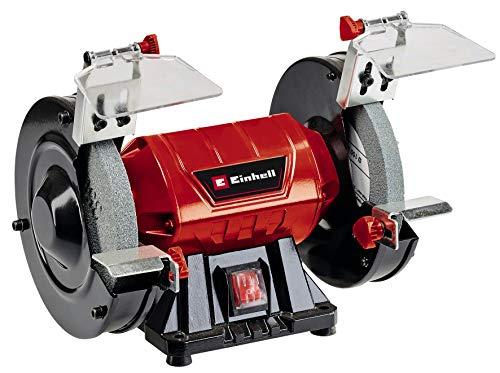 Einhell 4412632 Doppelschleifer TC-BG 150 (max. 150 W, Ø150 x ø32 x 16 mm Schleifscheiben, Funkenschutz,...