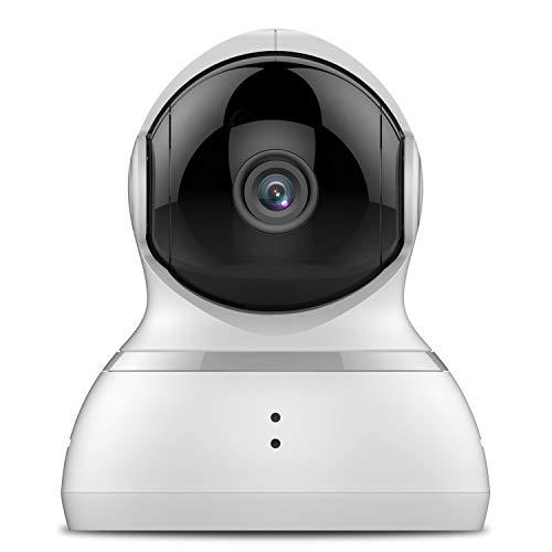 YI Überwachungskamera Dome 1080p Full HD Wlan IP Kamera Indoor Camera mit 345 ° horizontaler und 115 °...