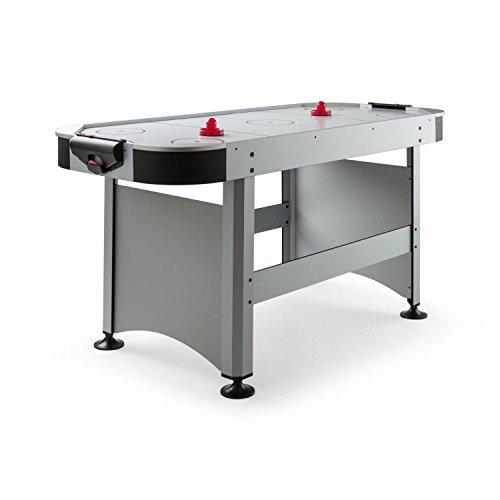 OneConcept Arctic Thunder - Airhockey-Tisch, Spieltisch, Lufthockey-Tisch, Laminatoberfläche, 180 x 78 cm...