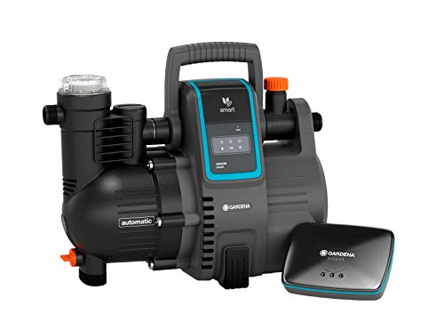 Gardena smart Pressure Pump Set: Hauswasserautomat via App / Tablet steuerbar, inklusive smart Gateway,...