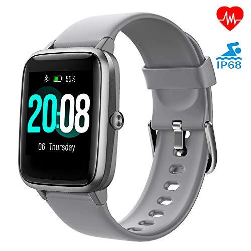 LIFEBEE Smartwatch, Fitness Armband Fitness Tracker Voller Touch Screen Smart Watch IP68 Wasserdicht Fitness...