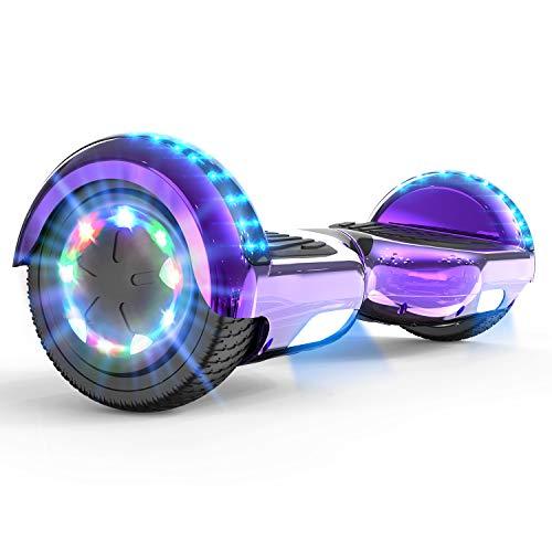 MARKBOARD Hoverboards, Self Balancing Scooter 6.5' Elektro Scooter Hover Scooter Board Skateboard - Eingebaute...