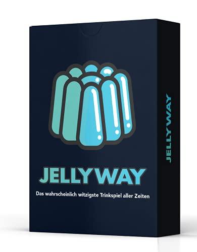 Jellyway® - das wahrscheinlich witzigste Trinkspiel Aller Zeiten | Witziges Spiel - Kartenspiel - Spieleabend...
