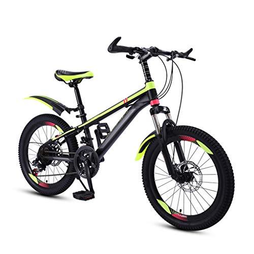 ZHEDYI 21-Gang Kinder Mountainbike Kinderfahrrad, 20in / 22in Jungen Und Mädchen Schüler Kinder Fahrrad, Mit...