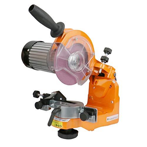 TIMBERTECH® Sägekettenschärfgerät - 230 W, 3000 U/min, m. Skala, inkl. 2 Schleifscheiben -...