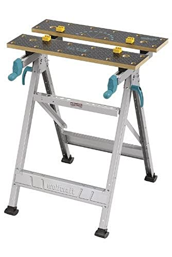 Wolfcraft MASTER 200 Spann- und Arbeitstisch 6177000 - klappbar / Universell einsetzbarer & robuster Werktisch...