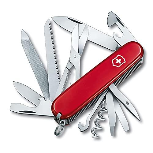 Victorinox Taschenmesser Ranger (21 Funktionen, Metallsäge, Holzmeissel, Schere, Holzsäge, Metallsäge,...