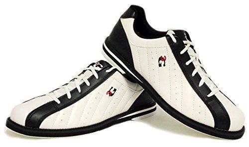 Bowling-Schuhe, 3G Kicks, Damen und Herren, für Rechts- und Linkshänder in 7 Farben Schuhgröße 36-48...