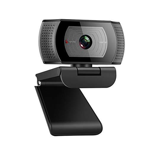 Angetube Webcam mit Mikrofon - Streaming Webcam für PC,1080P USB Computer Kamera für Laptop,gaming camera...