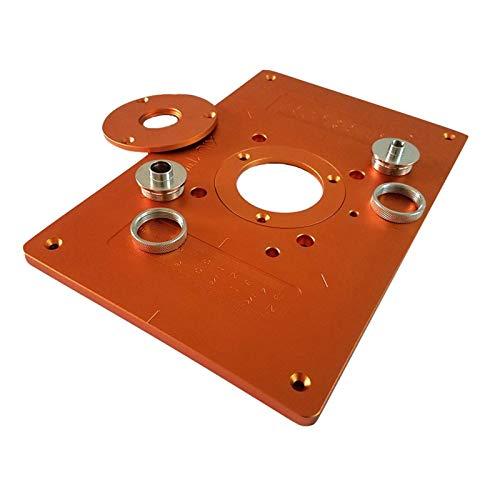 flygogo Aluminium-Router-Tabellen-Einsatz-Platte mit 4 Buchse elektrische...