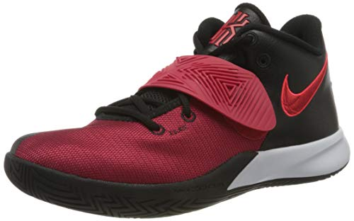 Nike Mens Kyrie Flytrap III Basketball Shoe, Black/University RED-Bright Crimson,44.5 EU