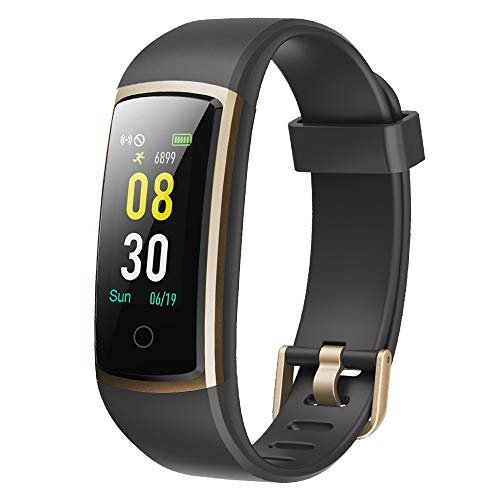 YAMAY Fitness Armband mit Blutdruckmessung,Smartwatch Fitness Tracker mit Pulsmesser Wasserdicht IP68 Fitness...