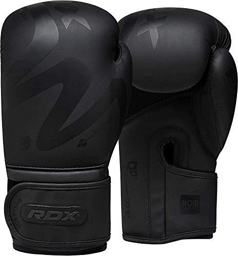 RDX Boxhandschuhe für Muay Thai und Training Convex Skin Leder Punchinghandschuhe für Sparring, Kickboxen,...