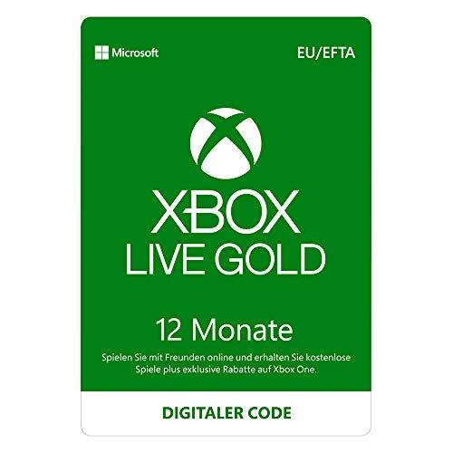Xbox Live Gold Mitgliedschaft | 12 Monate | Xbox Live Download Code