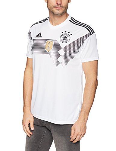 Adidas DFB Trikot Home WM 2018 Herren, Weiß (white/black), M