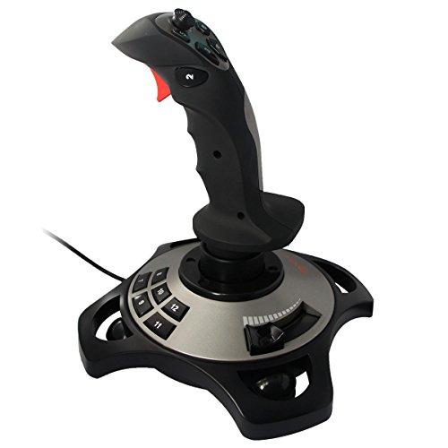 PXN-2113 Spiel Flight Joystick Flugsimulator Spiel Rocker-Controller Flight Stick Bar Vibration Flight...