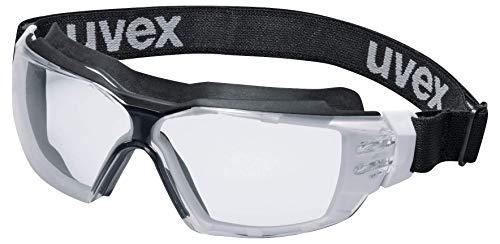 Uvex Pheos CX2 Supravision Extreme Schutzbrille - Transparent/Schwarz-Weiß