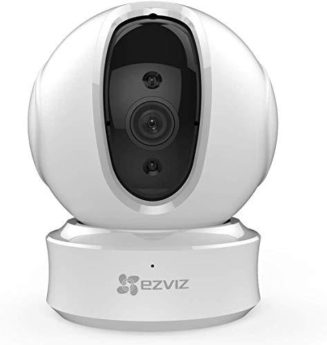 EZVIZ C6CN 1080p FHD Überwachungskameras, WLAN/LAN Dome Schwenk/Neige Kamera mit Nachtsicht, Zwei-Wege-Audio,...