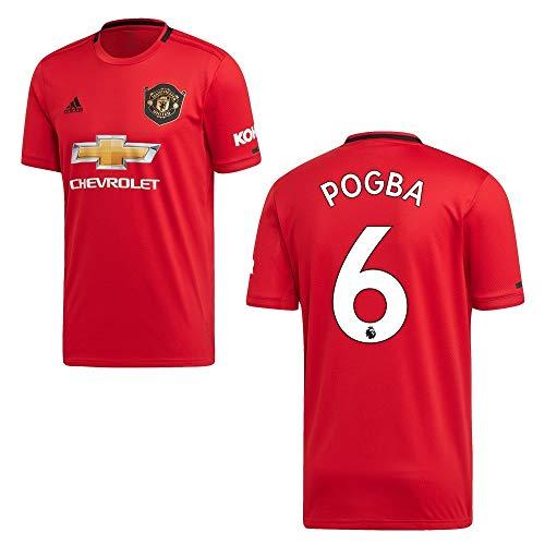 adidas Manchester United Trikot Home Herren 2020 - Pogba 6, Größe:XL