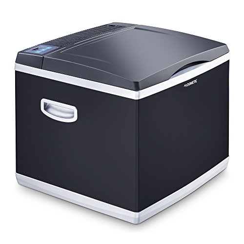 Dometic CoolFun CK 40D Hybrid, tragbare Kompressor- thermoelektrische-Kühlbox/Gefrierbox, 38 Liter, 12 V und...
