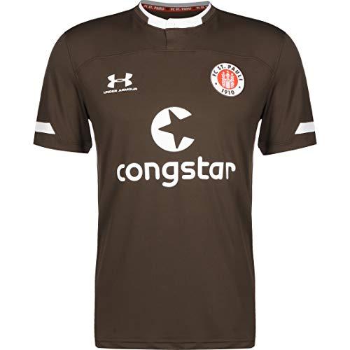 Under Armour FC St. Pauli Trikot Home 2019/2020 Herren braun/weiß, L