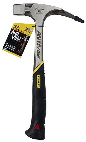 Stanley FatMax Antivibe Latthammer (600 g Kopfgewicht, 340 mm Länge, ergonomischer DynaGrip-Griff,...