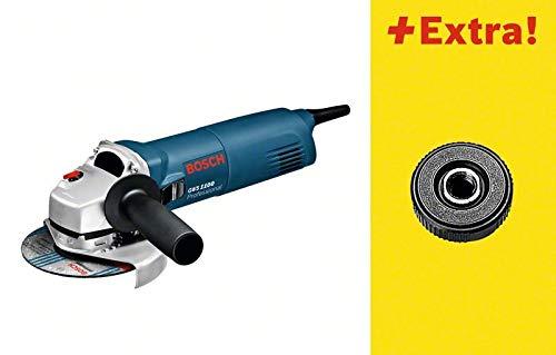 Bosch Professional GWS 1100 Winkelschleifer mit SDS Click im Karton, 0601822400