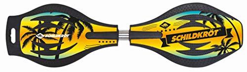 Schildkröt Waveboard Good Vibes, Design: Ocean Drive, leichtes und wendiges Casterboard, großes Deck mit...