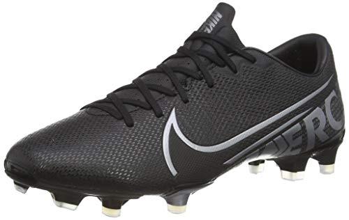 Nike Unisex-Erwachsene Vapor 13 Academy FM/GM Fußballschuhe, Mehrfarbig (Black/MTLC Cool Grey/Cool Grey 1),...