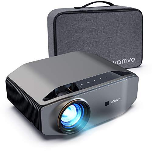 Beamer, Vamvo L6200 Full HD Native 1080P(1920*1080) 6000 Lumen Projektor mit Dolby Sound, Max 300'' Display...