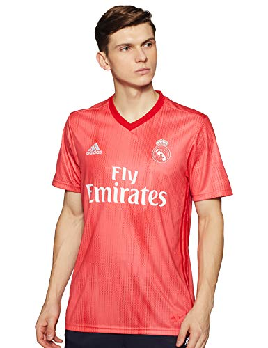 adidas Herren Real Madrid 3rd 2018/2019 T-Shirt, Beige, XL