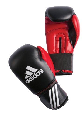 adidas Boxhandschuh Response, schwarz-rot, 12 oz, ADIBT01-12