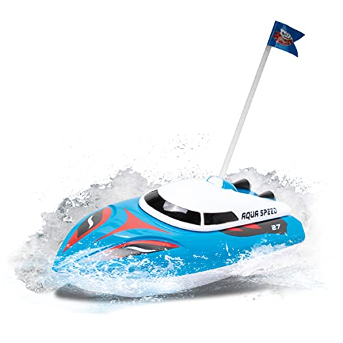 Xtrem Raiders - Aqua Speed, Ferngesteuertes Boot, RC Boote ferngesteuert, Outdoor Spielzeug, Boots Kinder,...