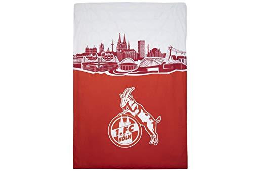1. FC Köln Bettwäsche Skyline rot, 4030184